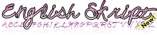 English Skript Font