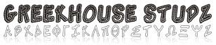 Purchase Greek Studz Font