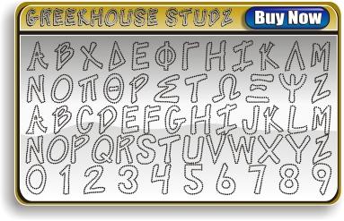 Greek Studz Font